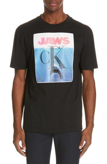 CALVIN KLEIN 205W39NYC Jaws Graphic T-Shirt