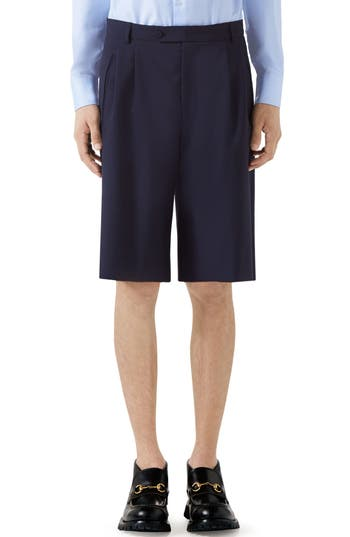 Gucci Wool Bermuda Shorts
