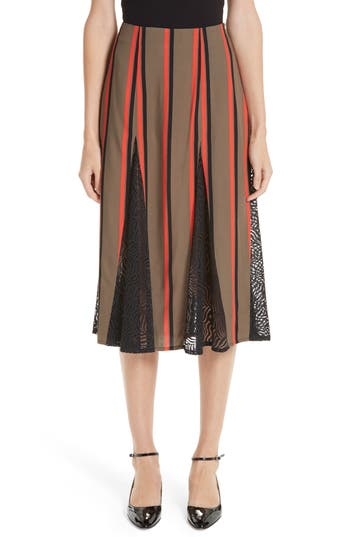 Beaufille Tricolor Skirt