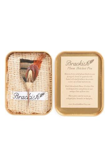 Brackish & Bell Roost Lapel Pin