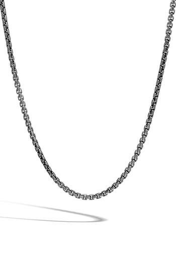 John Hardy Classic Box Chain Necklace