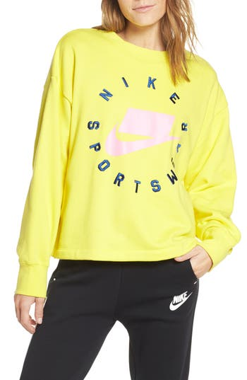 Nike Sportswear Logo Oversize Sweatshirt