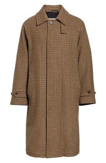 Mackintosh Gents Gun Club Check Virgin Wool Coat
