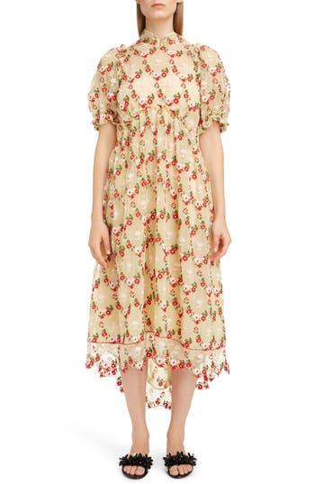 Simone Rocha Mandarin Lace Babydoll Dress