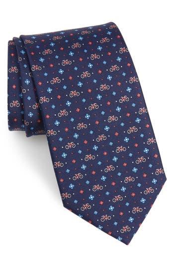 Salvatore Ferragamo Graziel Print Silk Tie