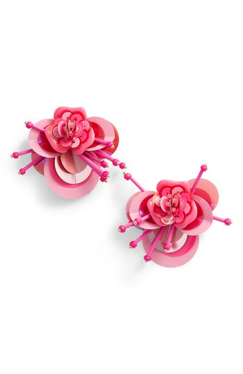 kate spade new york vibrant life floral earrings