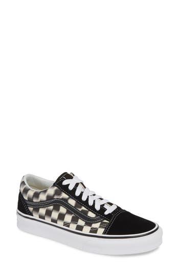 Vans Old Skool Blur Checkerboard Sneaker