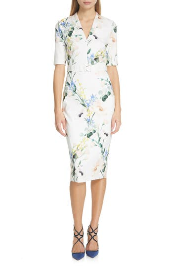 Ted Baker London Lylli Elegance Pencil Dress