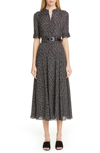 Lafayette 148 New York Augustina Piazza Print Dress