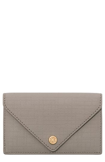 Dagne Dover Coated Canvas Card Case