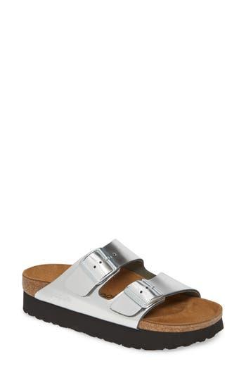 Papillio by Birkenstock 'Arizona - Birko-Flor' Platform Sandal