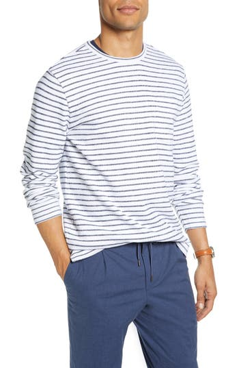 1901 Stripe Cotton Blend Sweater