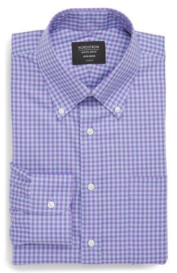 Nordstrom Men's Shop Classic Fit Non-Iron Gingham Dress Shirt