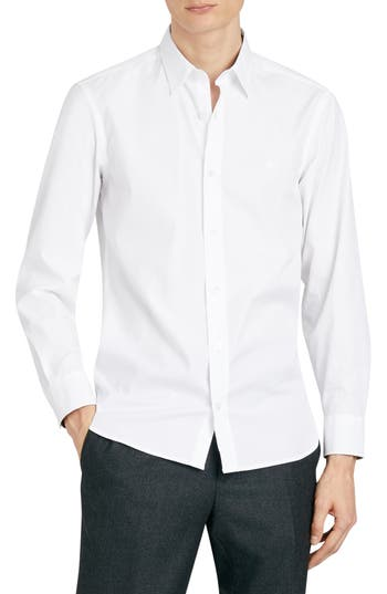 Burberry William Stretch Poplin Sport Shirt