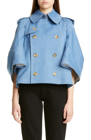Junya Watanabe Short Denim Trench Jacket