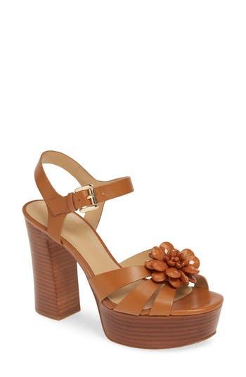 MICHAEL Michael Kors Dalia Flower Platform Sandal (Women)