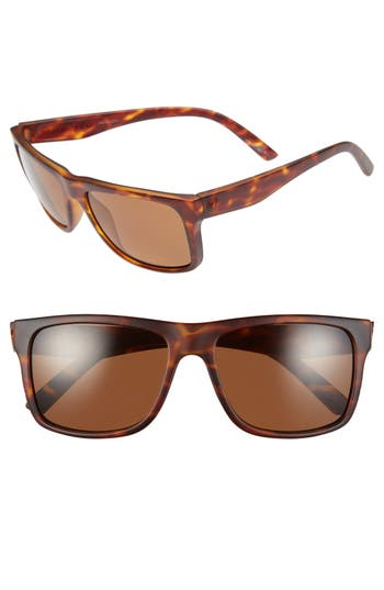 Women's Electric 'Swimgarm' 57Mm Polarized Sunglasses - Matte Tortoise/ Bronze Polar