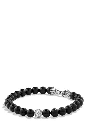 Women's David Yurman 'Spiritual Beads' Bracelet With Diamonds