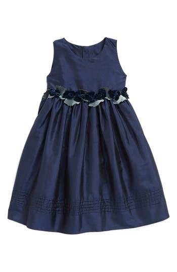 Girls Isabel Garreton Silk Sleeveless ALine Dress