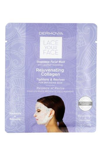 Dermovia Lace Your Face Rejuvenating Collagen Compression Facial Mask