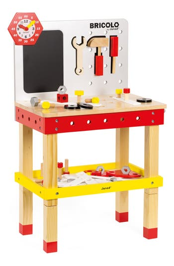 Janod Bricolo Redmaster Magnetic Workbench Play Set