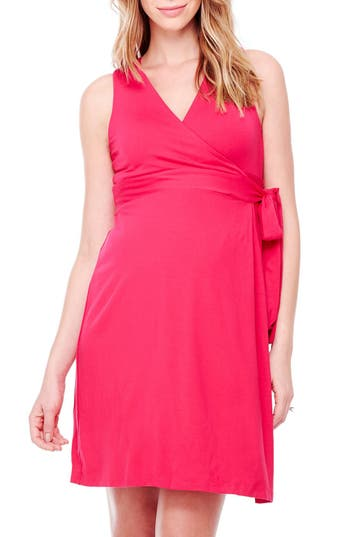 Women's Ingrid & Isabel Sleeveless Wrap Maternity Dress