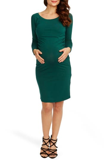 Rosie Pope Maternity Sheath Dress, Blue