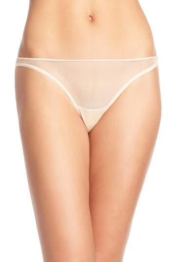 Women's Cosabella 'Soire' Low Rise Mesh Thong