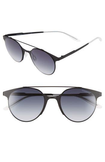 Carrera Eyewear 50Mm Retro Sunglasses - Matte Black