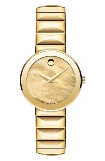 Women's Movado 'Sapphire' Bracelet Watch, 26Mm