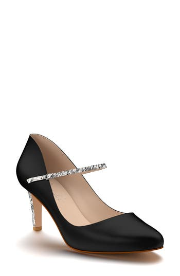Shoes Of Prey Mary Jane Pump - Black
