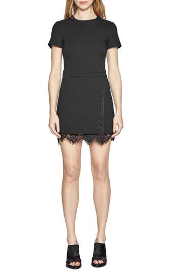 Women's French Connection 'Lula' Lace Trim A-Line Dress