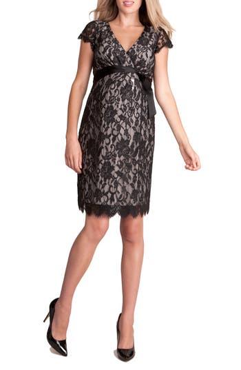 Women's Seraphine 'Freya' Lace Wrap Maternity Dress