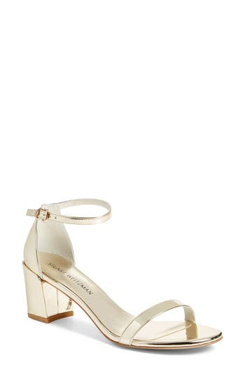 Women's Stuart Weitzman Simple Ankle Strap Sandal