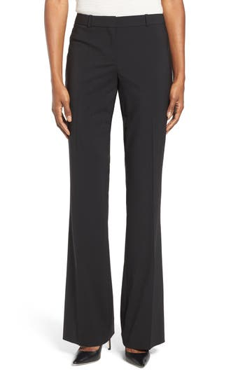 Women's Boss Tulea3 Bootcut Wool Trousers