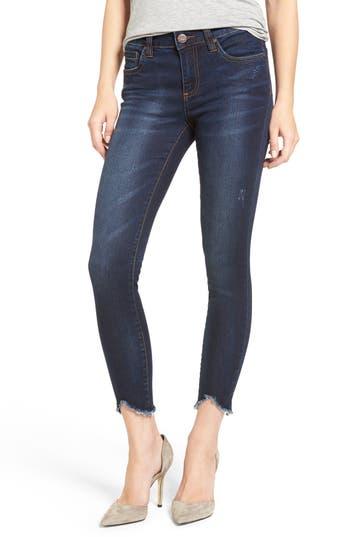 Kut From The Kloth Raw Hem Skinny Jeans