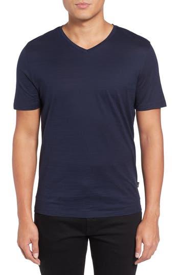 Boss Tilson 50 V-Neck T-Shirt, Blue