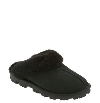 Ugg Genuine Shearling Slipper, Black
