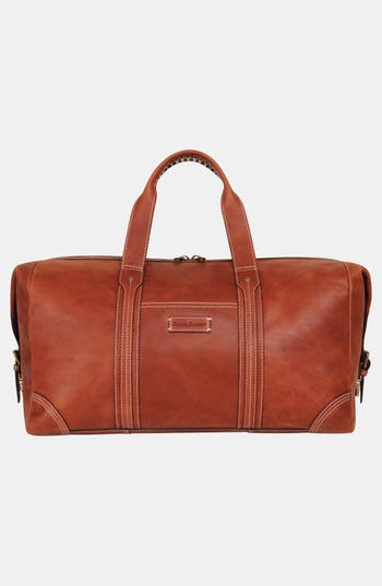 Men's Tommy Bahama Leather Duffel Bag - Brown