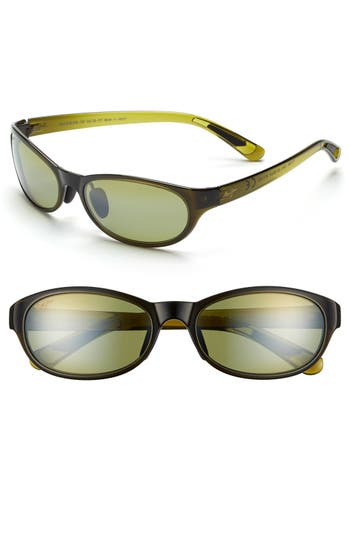 Maui Jim Pipiwai Trail 5m Polarized Sunglasses - Olive Fade