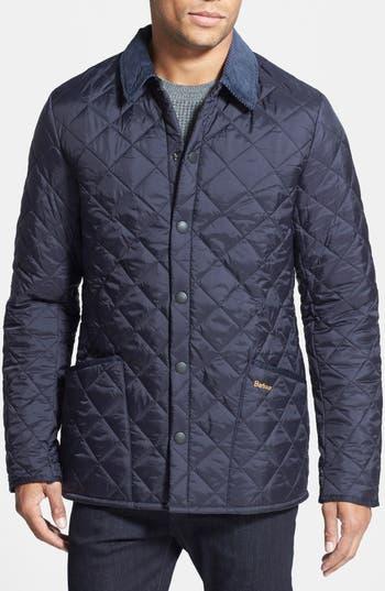 Barbour Heritage Liddesdale Regular Fit Quilted Jacket
