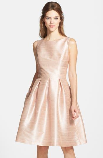 Women's Alfred Sung Dupioni Fit & Flare Dress