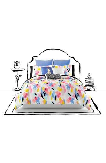 Kate Spade New York Paintball Floral Comforter & Sham Set