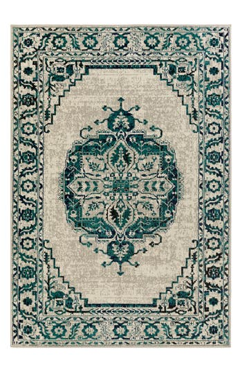 Surya Home Classic Cove Rug, Size Swatch - Blue/green