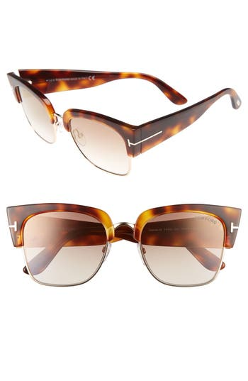 Tom Ford Dakota 55Mm Retro Sunglasses -