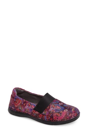 Women's Alegria Glee Slip-On Sneaker, Size 6-6.5US / 36EU - Pink