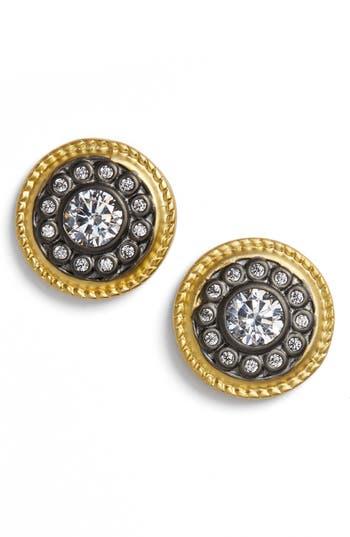 Freida Rothman Nautical Button Stud Earrings yCS8GW0Rxf