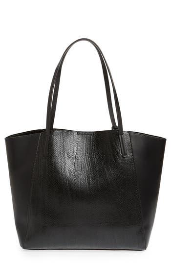 Bp. Colorblock Faux Leather Tote - Black