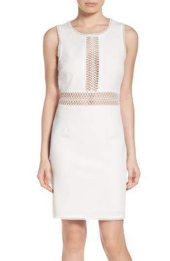 Nsr Jacquard Sheath Dress