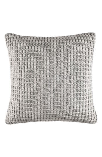 Nautica Grey Sweater Knit Pillow